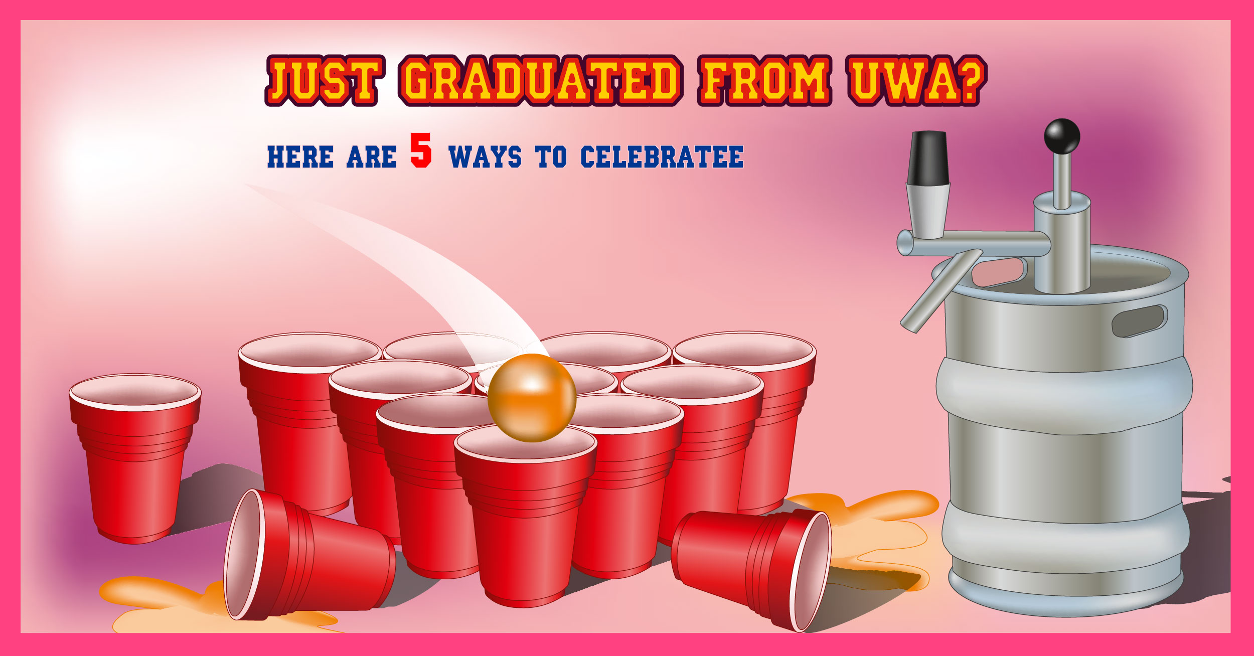 Just Graduated From UWA ? – Here Are 5 Ways To Celebrate